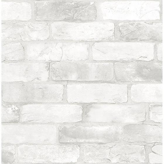 2767-22321 Adams White Reclaimed Bricks Techniques and Finishes III by Brewster
