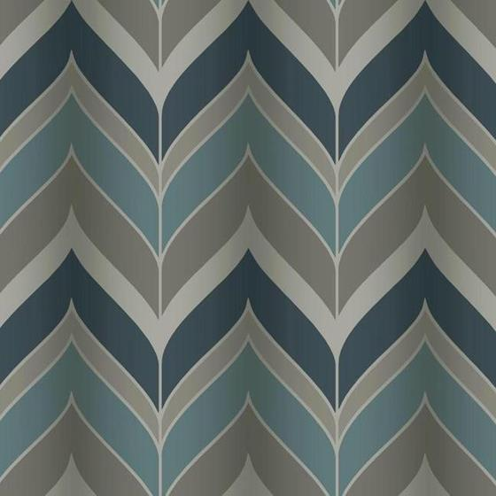 Candice Olson Blue Living Rooms: Modern Luxe, Gatsby Color Blue, Chevron - Candice
