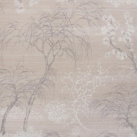 5009390 Mori Shimmer Moonstone by Schumacher Wallpaper