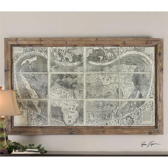 34025 Treasure Map by Uttermost