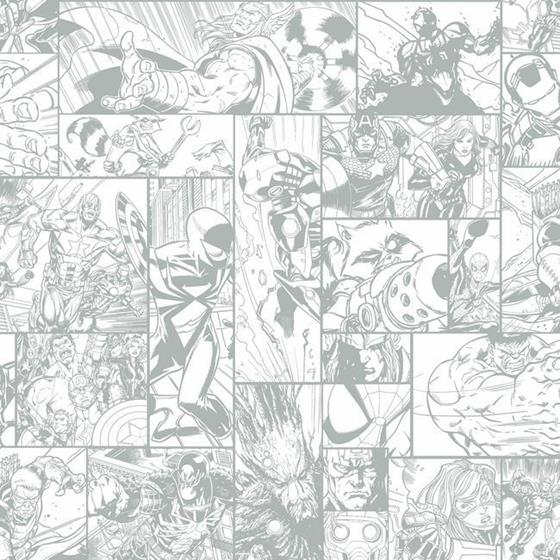 DY0269 Marvel Comic Book by York Wallcoverings
