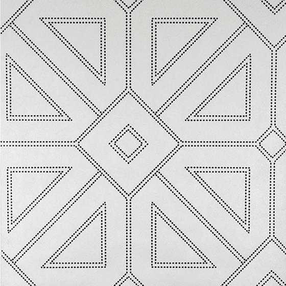 2902-87336 Theory Voltaire Off-White Geometric by A-Street Prints Wallpaper