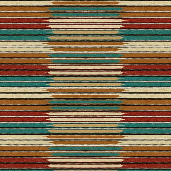 29438.1613.0 Churra Turquoise Beige Upholstery Ikat Southwest Kilims Fabric by Kravet Couture