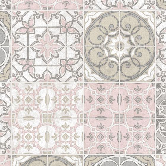 CK36611 Creative Kitchens Portugese Tiles Wallpaper Norwall