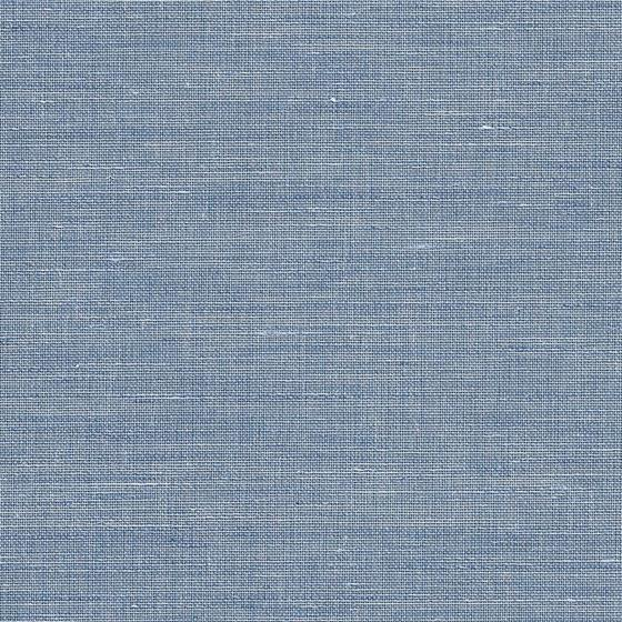 8060 Canvas Linens, Blue Cascade Grasscloth by Phi