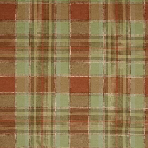 A7240 Sunset, Green Plaid Check Multipurpose by Gr