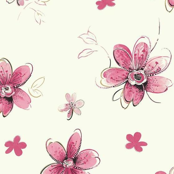 SB7610 Bohemian Floral by York Wallcoverings