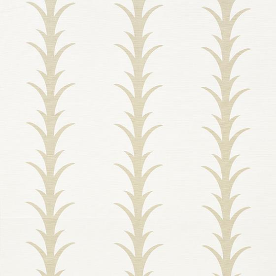 177630 Acanthus Stripe Sand by Schumacher