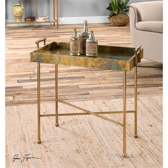 24448 Couper Tray Table by Uttermost