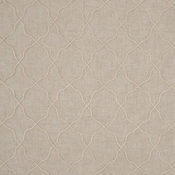 B8021 Linen, Neutral Geometric by Greenhouse Fabri