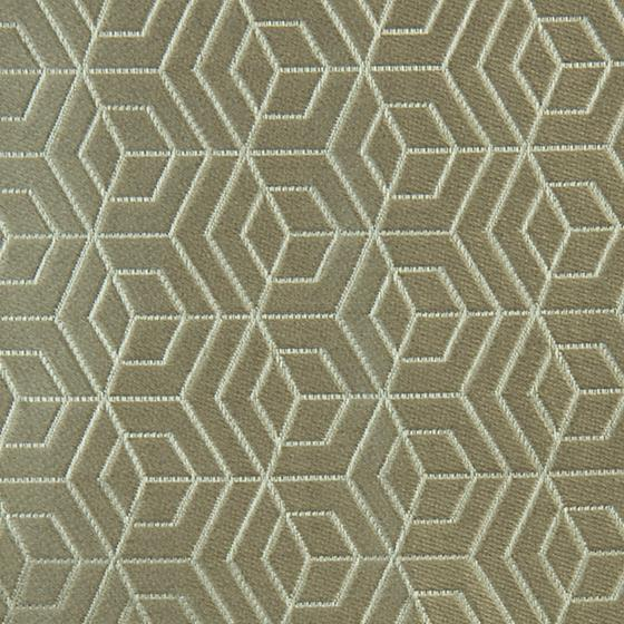 A9 00031875 Hoopstar Silver On Taupe By Aldeco Fabric