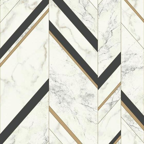 MM1805 Marble Chevron by York Wallcoverings