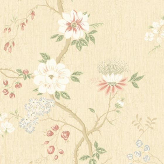 115-8023 Camellia, Coral Sage Butterc Print by Col