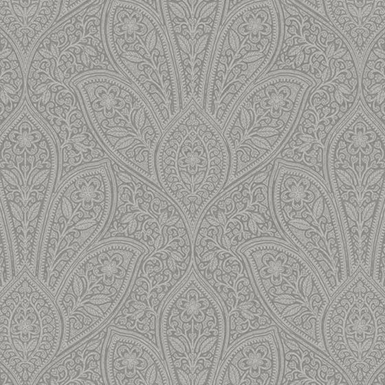 Fh37548 Farmhouse Living Distressed Paisley Norwall Wallpaper