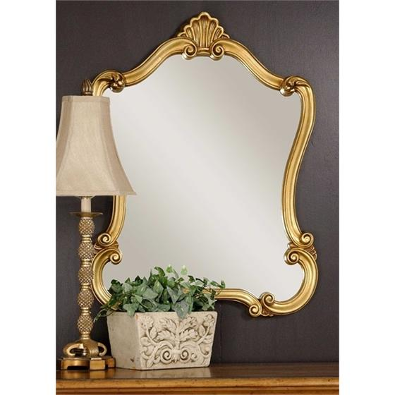 08340 P Walton Hall Gold by Uttermost
