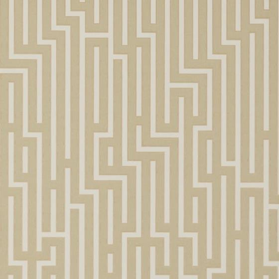 BW45007.10 Fretwork Parchment GP and Baker Wallpap