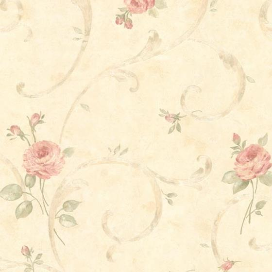 2530-60121 Satin Classics IX Pink Flowers Mirage