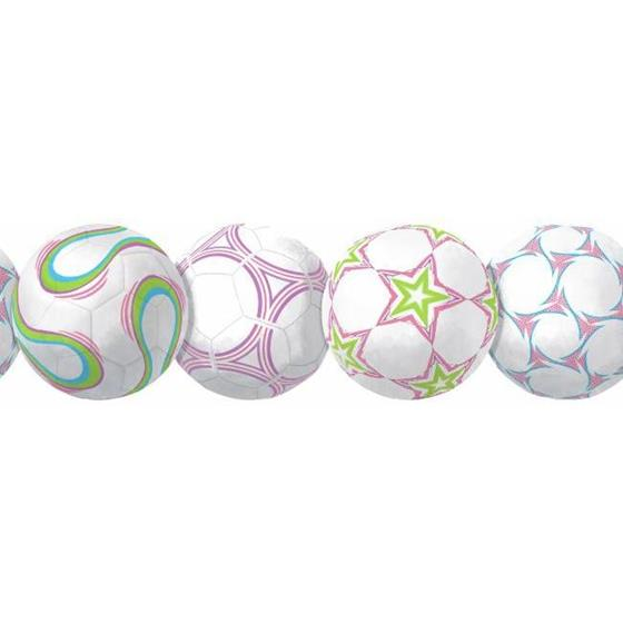 BS5321BD New Soccerball Border by York Wallcoverings