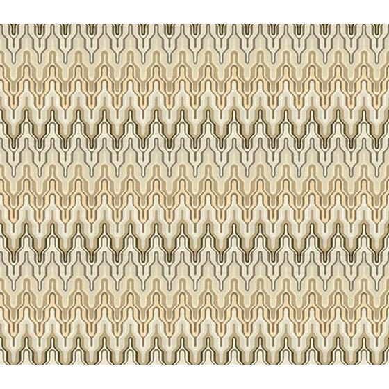 33454.11.0 At The Top Pearl Grey Grey Upholstery Flamestitch Fabric by Kravet Couture