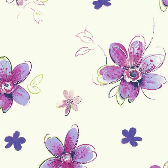 SB7611 Bohemian Floral by York Wallcoverings
