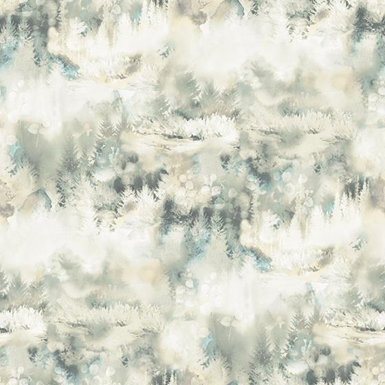 3118-12612 Birch and Sparrow Tamarack Forest by Chesapeake Wallpaper