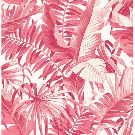 2969-26054 Pacifica Alfresco Pink Tropical Palm Pinkby A-Street Prints Wallpaper