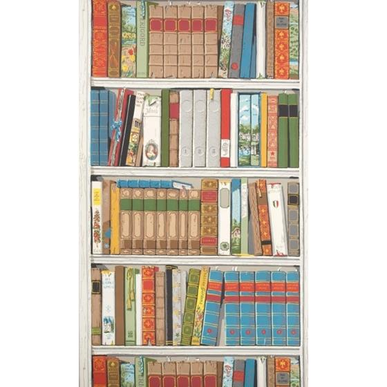 BR-69080.MMM Bibliotheque Multicolor Brunschwig and Fils