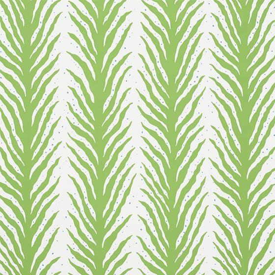 5009450 Creeping Fern Moss by Schumacher Wallpaper