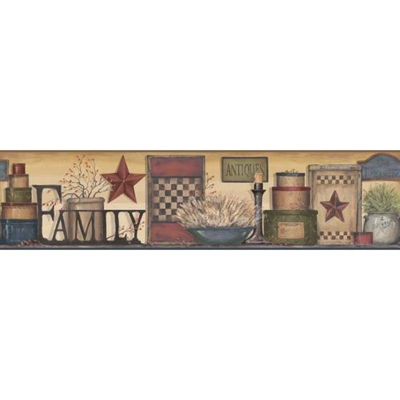 AC4342BD Country Keepsakes by York Wallpaper