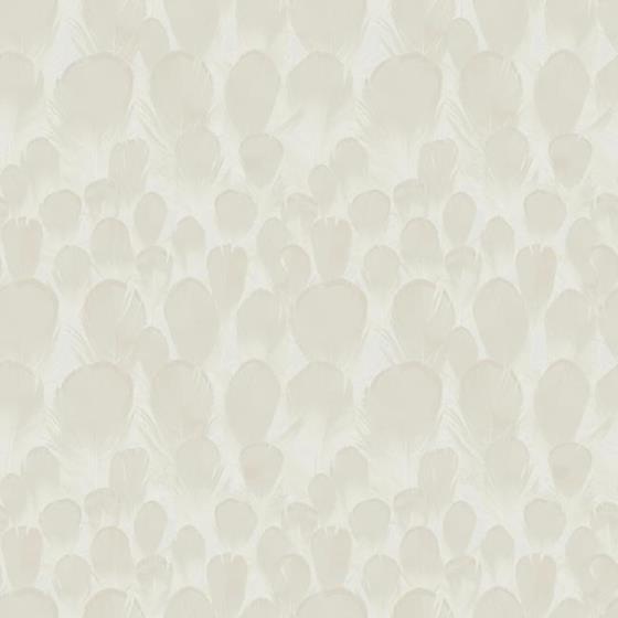 Y6230102 Natural Opalescence, Feathers, Cream Anim