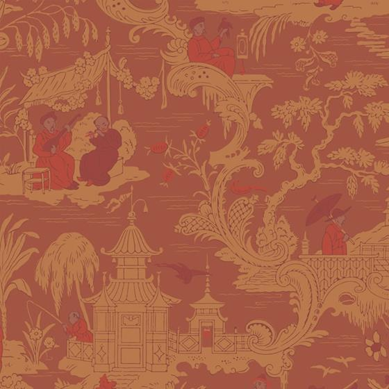 100/8041 Chinese Toile Cole and Son Wallpaper