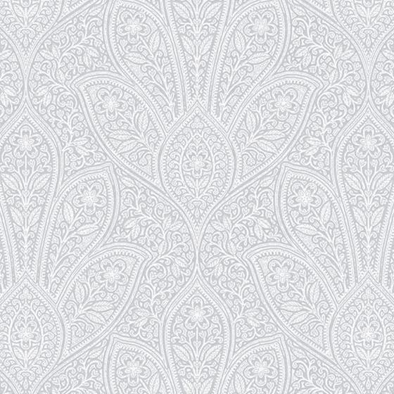 Fh37549 Farmhouse Living Distressed Paisley Norwall Wallpaper