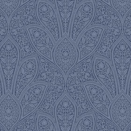 Fh37546 Farmhouse Living Distressed Paisley Norwall Wallpaper