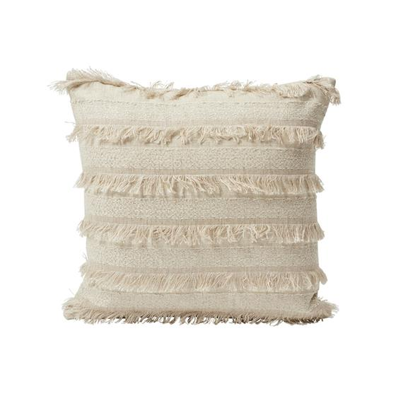 """So7265004 Acadia 18"""" Pillow Greige By Schumacher Furniture and Accessories 1"""