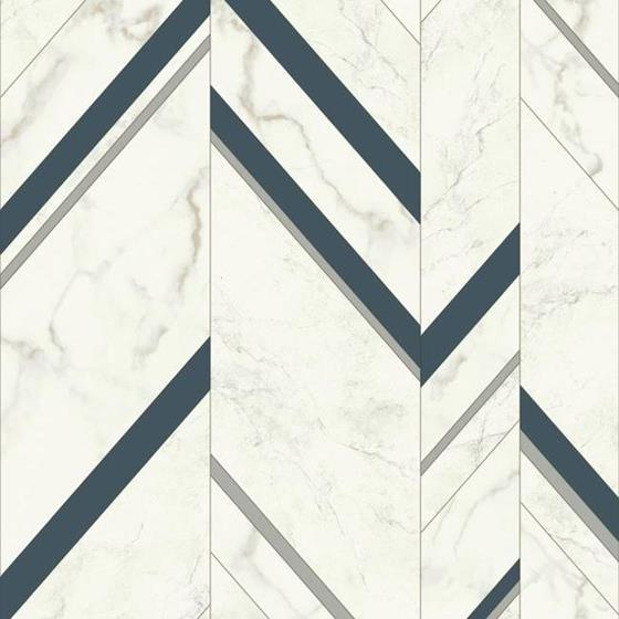 MM1804 Marble Chevron by York Wallcoverings