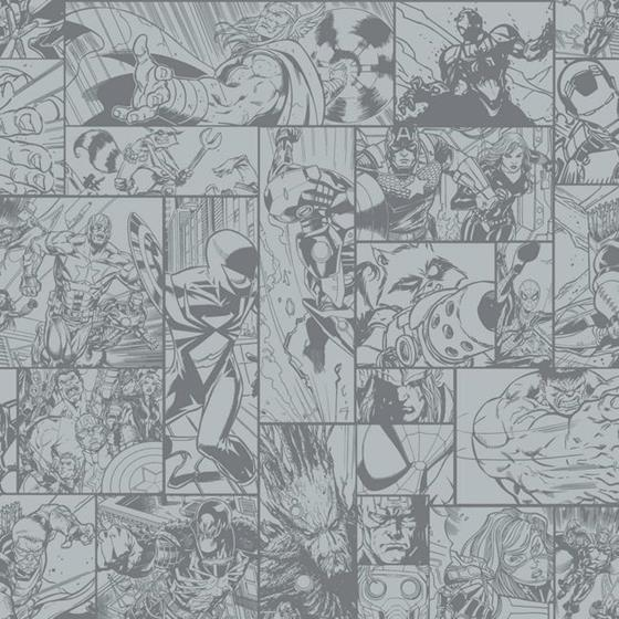 DY0268 Marvel Comic Book by York Wallcoverings