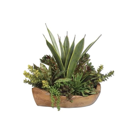 60119 Salar Succulents by Uttermost-3