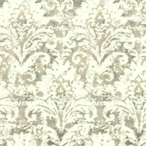 Nn7301 Cloud Nine Batik Damask Color Beige Damask Carey Lind