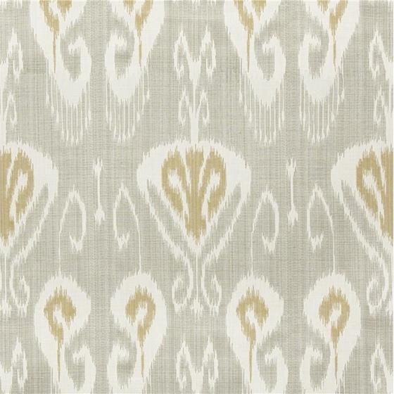 31696.1611.0 Magnifikat Gull Light Grey Upholstery Ikat Southwest Kilims Fabric by Kravet Couture