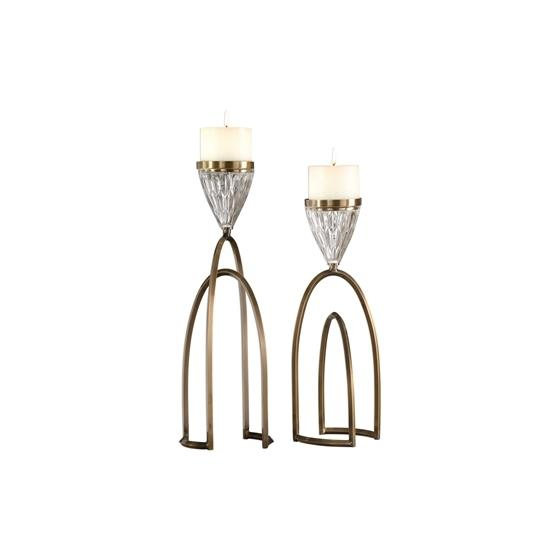 18920 Carma Candleholders S/2 by Uttermost-3