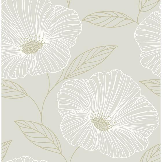 2764-24320 Mythic Dove Floral Mistral by A-Street Prints