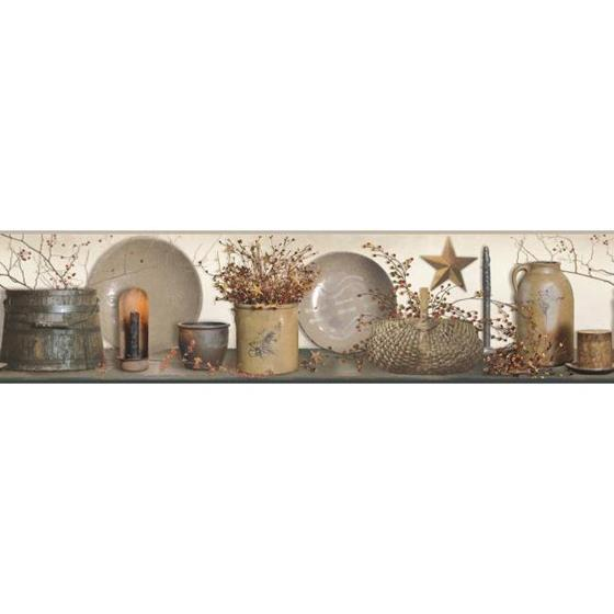 AC4372BD Country Keepsakes by York Wallpaper