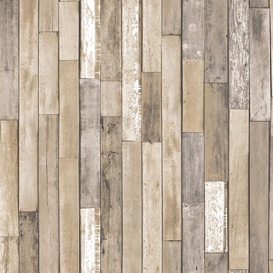 NH3057 Weathered Plank Barn Wood Peel and Stick Wallpaper