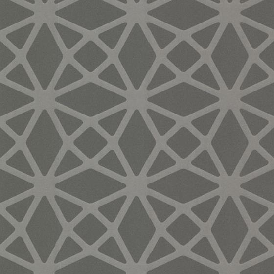 Decorline - Geo Grey Geometric Wallpaper