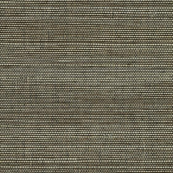 2732-65409 Canton Road Yunnan Brown Grasscloth by Kenneth James Wallpaper