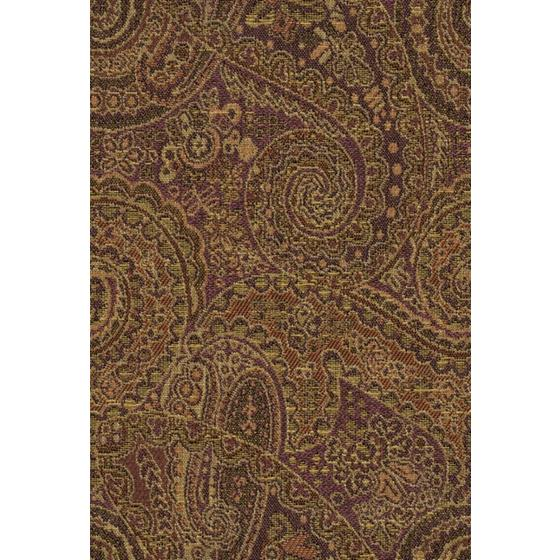 31524.610.0 Kasan Sunset Brown Upholstery Paisley Fabric by Kravet Contract