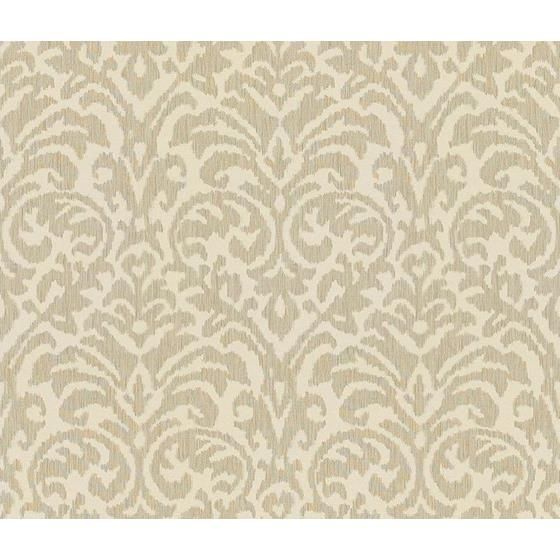 32051.11.0 Ikat Damask Dove White Upholstery Contemporary Fabric by Kravet Couture