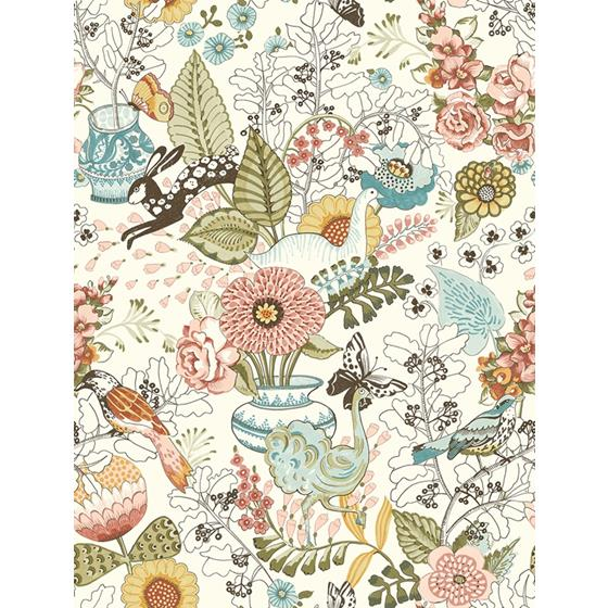 2821-12802 Folklore Whimsy by A-Street Prints Wallpaper