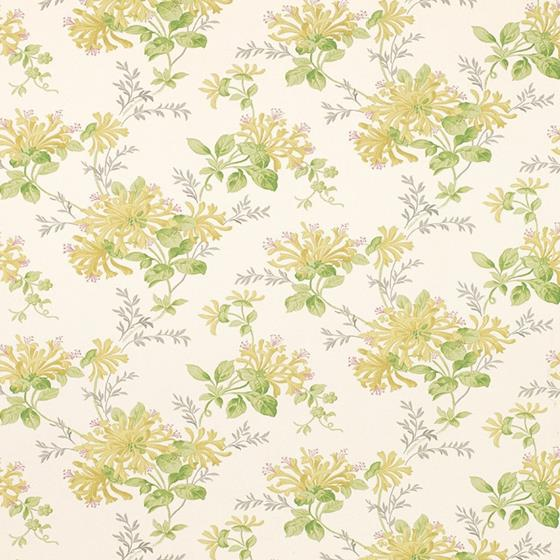 FREE DELIVERY Laura Ashley Honeysuckle Trail White Wallpaper Several Available