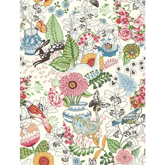 2821-12801 Folklore Whimsy by A-Street Prints Wallpaper